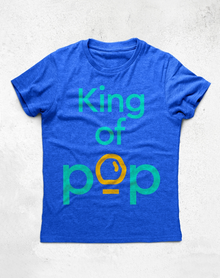 Lotus Pops King of Pop t-shirt design